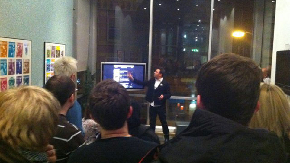 Website and app launch presentation by Paul Fillingham