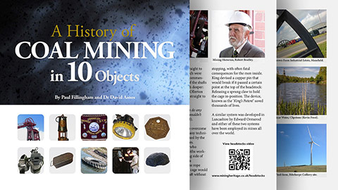 Digital Outreach, Archive to Assets - A History of Coal Mining in 10 Objects