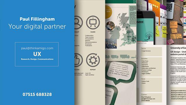 Download UX Research Design Comms portfolio