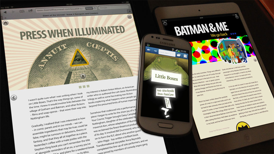 Dawn of the Unread digital content on tablet and mobile devices