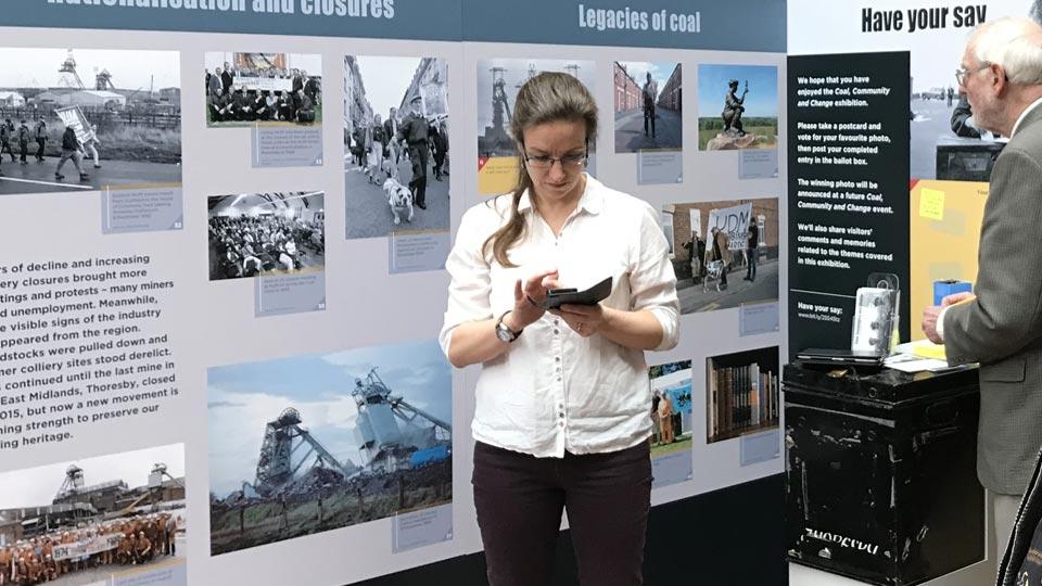 Coal Community and Change Exhibition