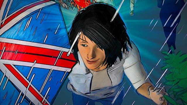 Union Jack immigrant comic panel