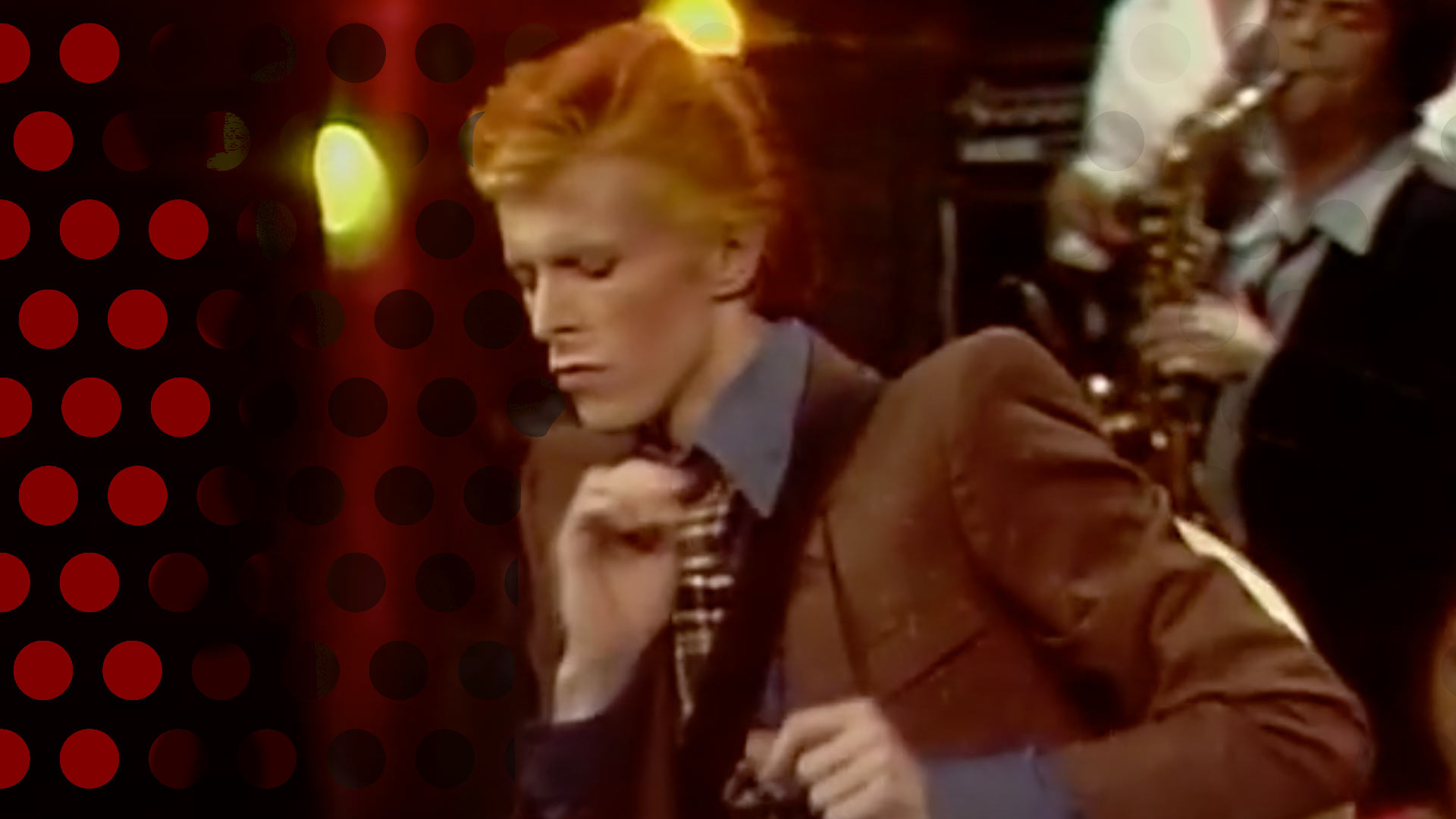 Bowie on Cavett Show