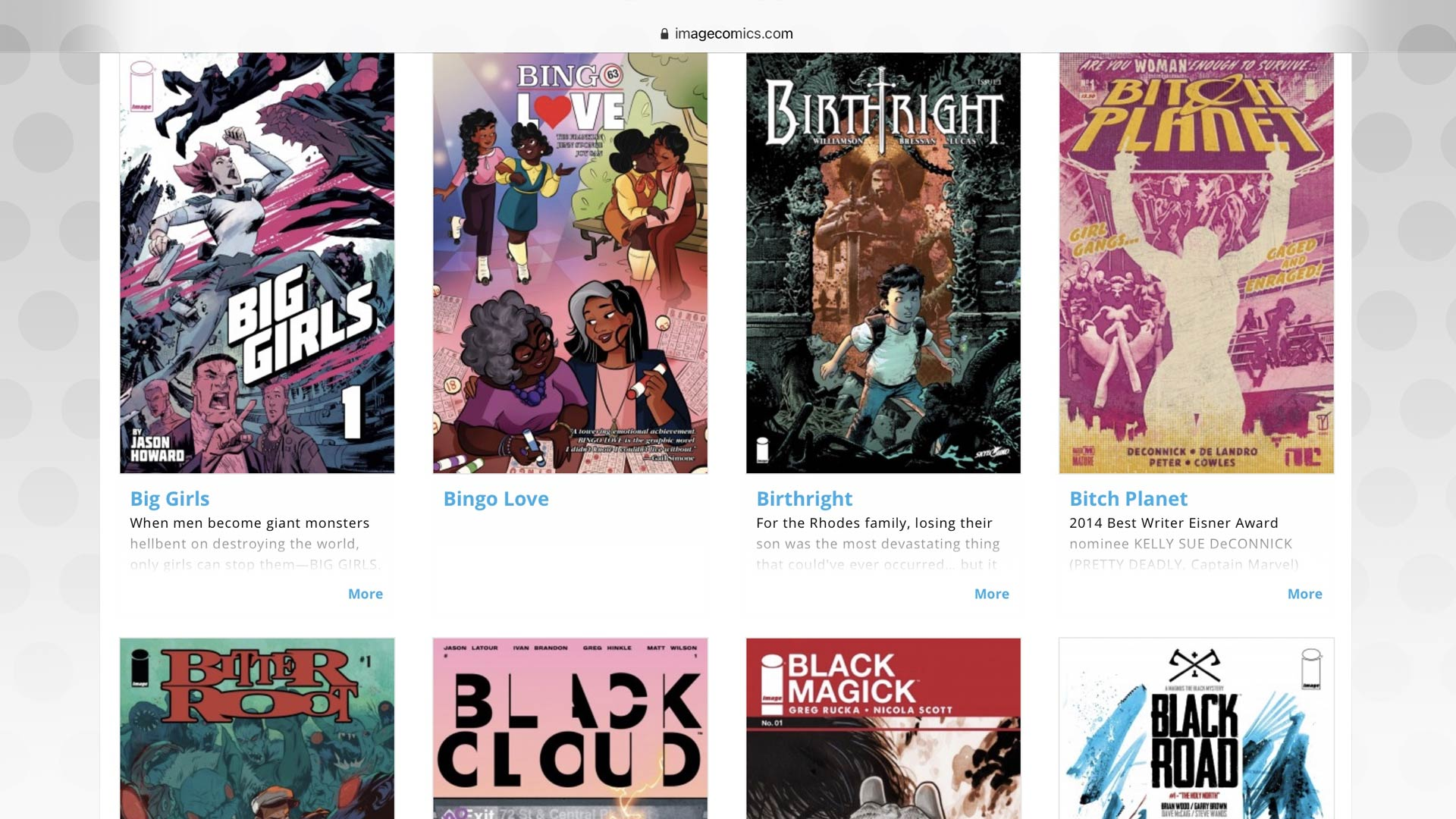 First issues, Image Comics