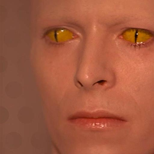 David Bowie the alien