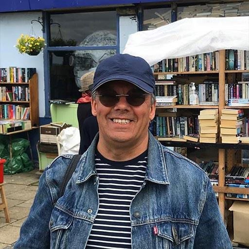 Paul Fillingham at the Old Pier Bookshop