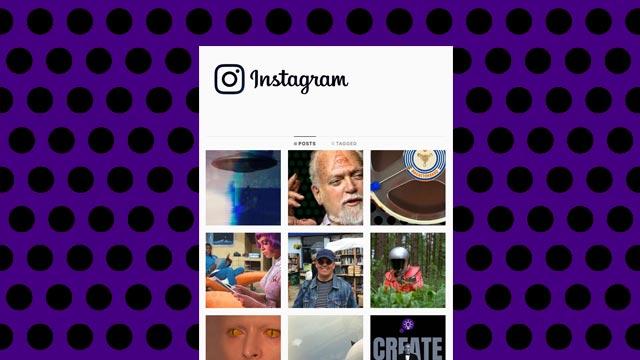 CREATE think instagram screen